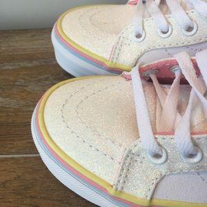 Vans Shoes - Vans Skate High Tops Unicorn Glitter 13.5